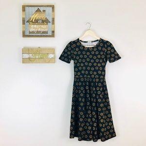 Lularoe Sunflower Amelia Dress